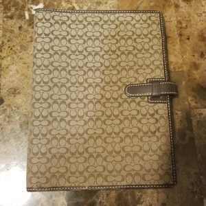 Coach Agenda with original pen